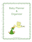 Baby Planner Cover Page